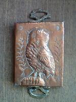 "Copper ""OWL"" Mold/Tray"