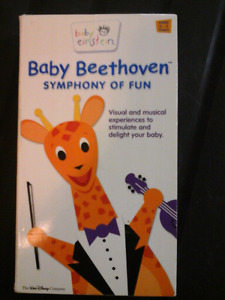 Baby Einstein: Baby Beethoven Symphony of Fun VHS