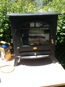 Charmglow electric fireplace - good used condition