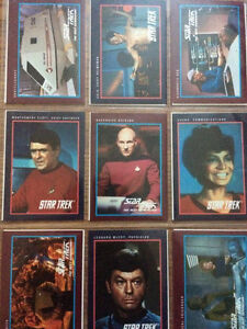 Star Trek Original Series and TNG Collectible Cards