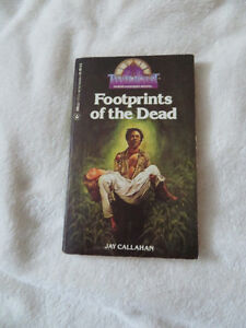 vintage 1983 FOOTPRINTS of the DEAD VOODOO & ZOMBIES COLLECTIBLE