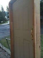 "36"" pre hung entrance door"
