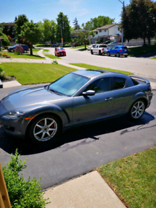07 Mazda rx8 gt 6 spd, cold air intake low kms