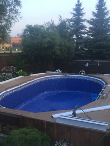 New Above Ground Swimming Pool Liner