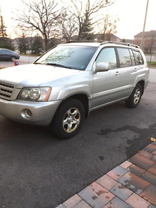 RARE EXCELLENT 2003 TOYOTA HIGHLANDER AS IS