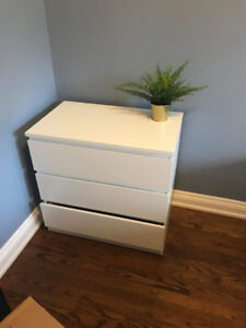 Dresser Duo Ventures The Nursery Custom Hemnes Regarding White