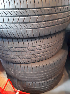 Goodyear integrity all season tires  215/65/R17