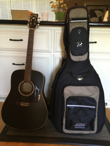 ART & LUTHERIE ACOUSTIC GUITAR & CASE FOR SALE
