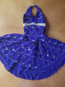 Purple/gold skating dance dress (Jerry's) youth size 10-12