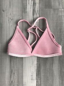 be5621f712dc8 Brand new pink velvet Hoaka Swimwear top