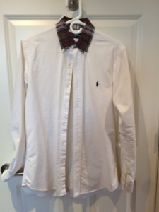 Mens Ralph Lauren Oxford Shirt Size Small