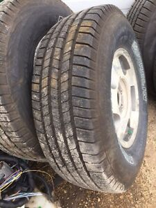 R16 truck tires set of 4