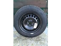 Brand new Continental tyre & wheel 185/65x15