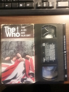 Rare vhs  the Who - the Kids are Alright