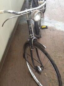 Old black bike