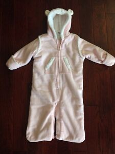Baby Gap fleece suit 3-6 months