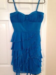 GUESS ruffle cocktail dress Size 10