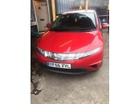 2007 1.3 HONDA CIVIC 5 DOORS 6 SPEED MANUAL IN GOOD CONDITION INSIDE AND OUT LONG MOT ANY TRIAL