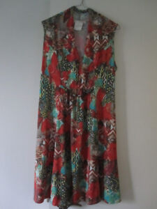 Sun Vacation Dresses (2) - Med/Large (size 12) and medium