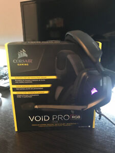 Gaming Headset: Corsair VOID PRO RGB USB 7.1 WITH DOLBY