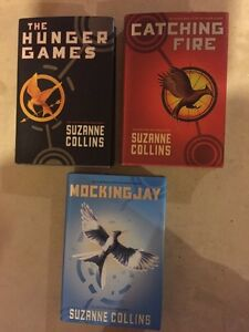 THE HUNGER GAMES trilogy - $30.00
