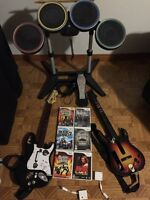Rock Band / Guitar Hero for Wii