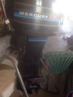 25 hp Mercury long shaft
