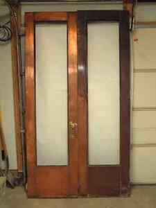 Vintage Copper Doors (Wood core with all copper cladding...large