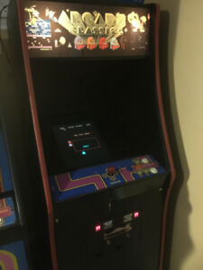 Original Pac-Man Arcade Cabinet with 60 in 1 board installed