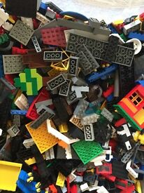 1kg mixed Lego bricks
