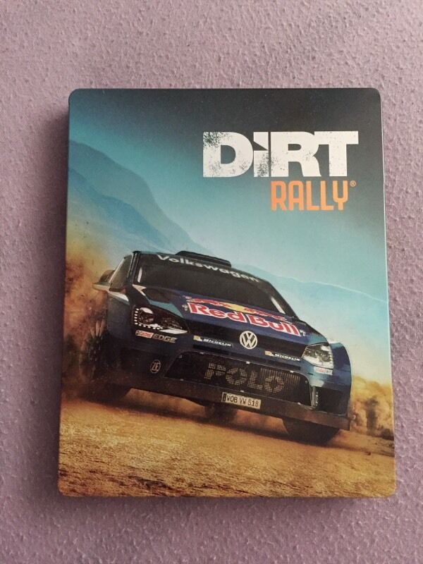 PS4 XBOX ONE PC Dirt Rally Steel Book Case Steelbook GBP10