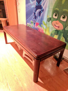 Coffe Table - Cherry Brown