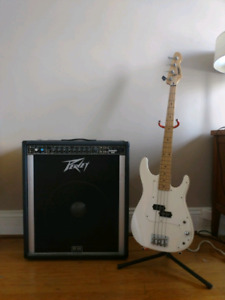 Peavey Bass and Amp