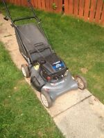 6.75hp Murray rear bag mower