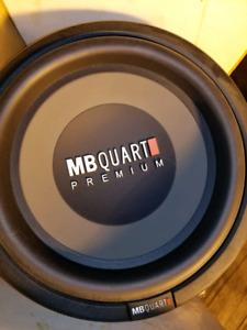 "12"" MBQuart Sub for Trade OBO."