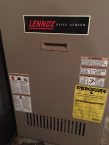 LENNOX ELITE SERIES OIL FURNACE AND TANK