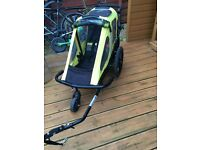 Bike trailer toddler Explorer Bumper
