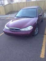1999 ford contour runs and drives great