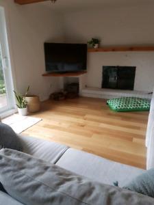 Plancher bois ingénierie chêne blanc 6po haute qualité 1000pc