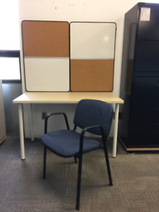 COMPUTER DESK - OFFICE DESK - STUDENT DESK AND CHAIR COMBO