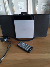 Sandstrom CD, DAB radio and docking station with remote control