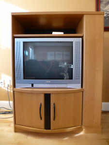 TV and Cabinet for sale