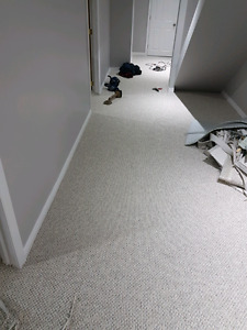 Carpet Impeccably Installed. 647-994-4446.