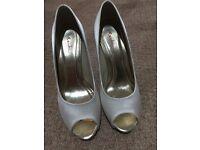 Rainbow Club Bridal shoes- size 4.5