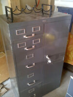 File Cabinet with light duty safe