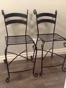 Set of TWO Counter Height Stools