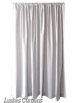 Gray 12 ft H Long Velvet Curtain Custom Made Stage Backdrop Muslin Panel Drape - Custom Made Backdrops