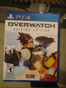 Overwatch PS4 - Mint Condition