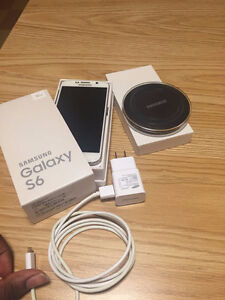 Samsung Galaxy S6 32gb and Wireless charging pad