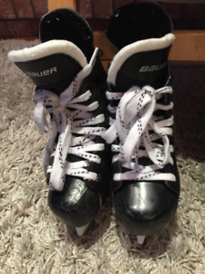 Bauer youth hockey skates